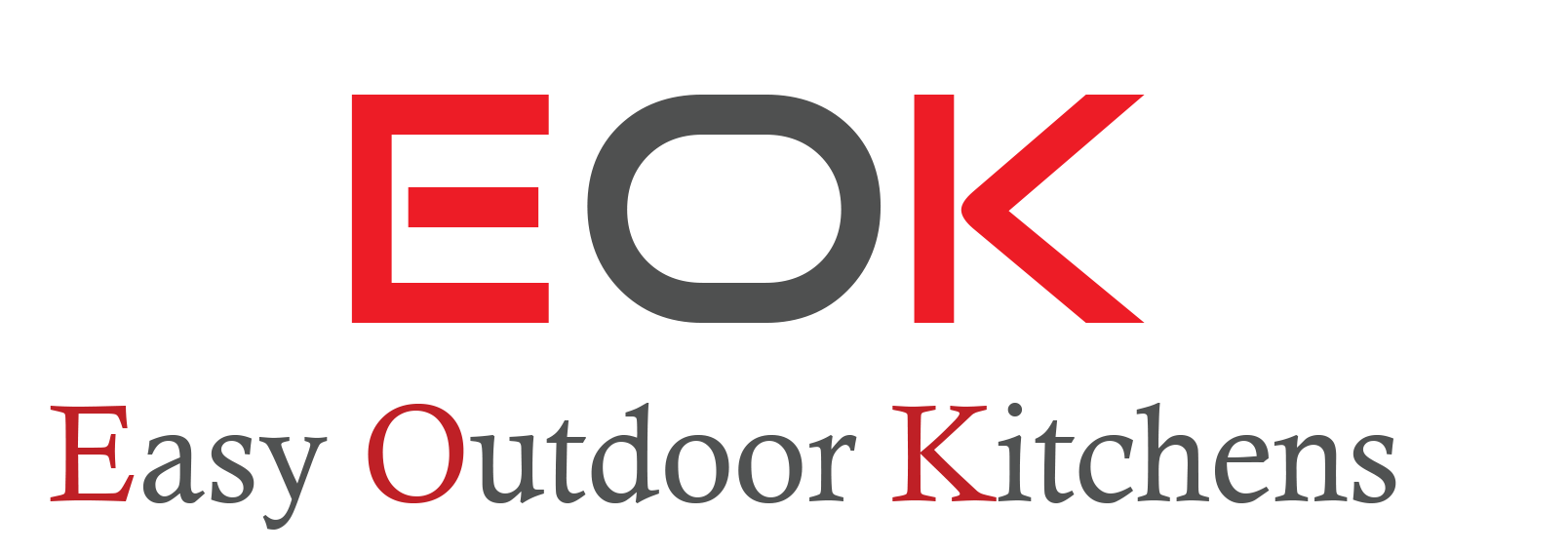 EOK Systems GalleryEASY OUTDOOR KITCHEN COMPONENT LINE