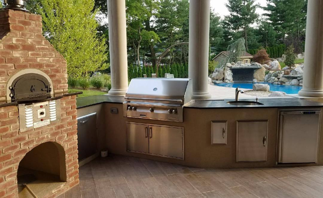 Outdoor Kitchen In Totowa, NJ